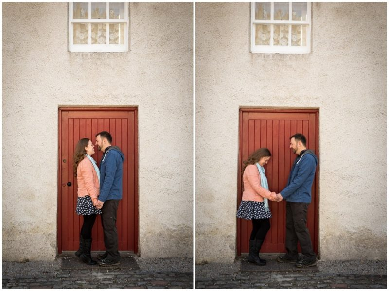 couples session engagement shoot Aden park Mintlaw Aberdeenshire