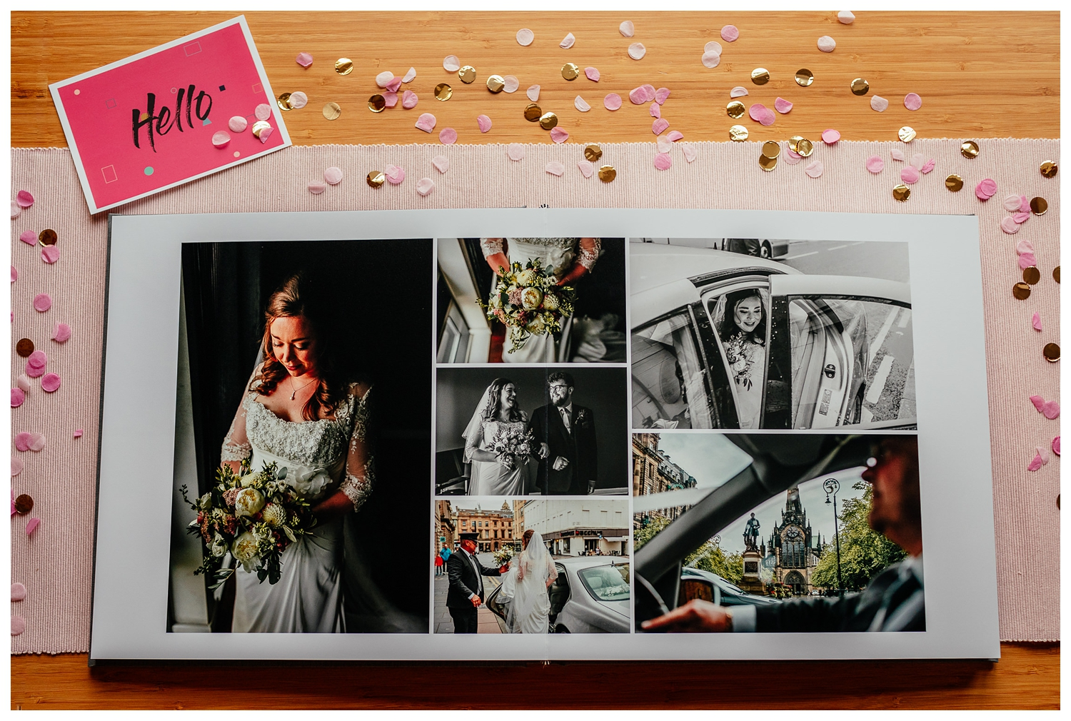 luxury photo albums for wedding images by Fotomaki Photography