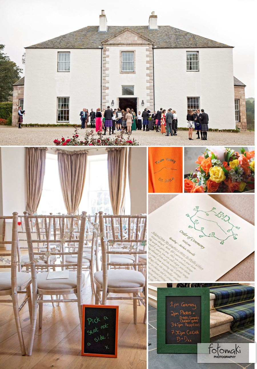 Logie Country House wedding photos by Fotomaki Photography
