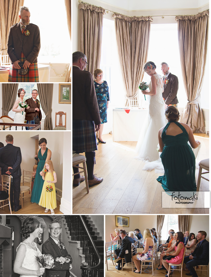 Bethan & Don's Autumn Wedding at Logie Country House, Aberdeen