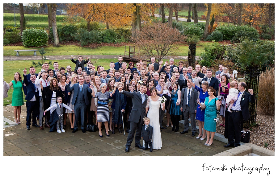 Fiona & Martin's Winter Wedding at House for an Art Lover, Glasgow