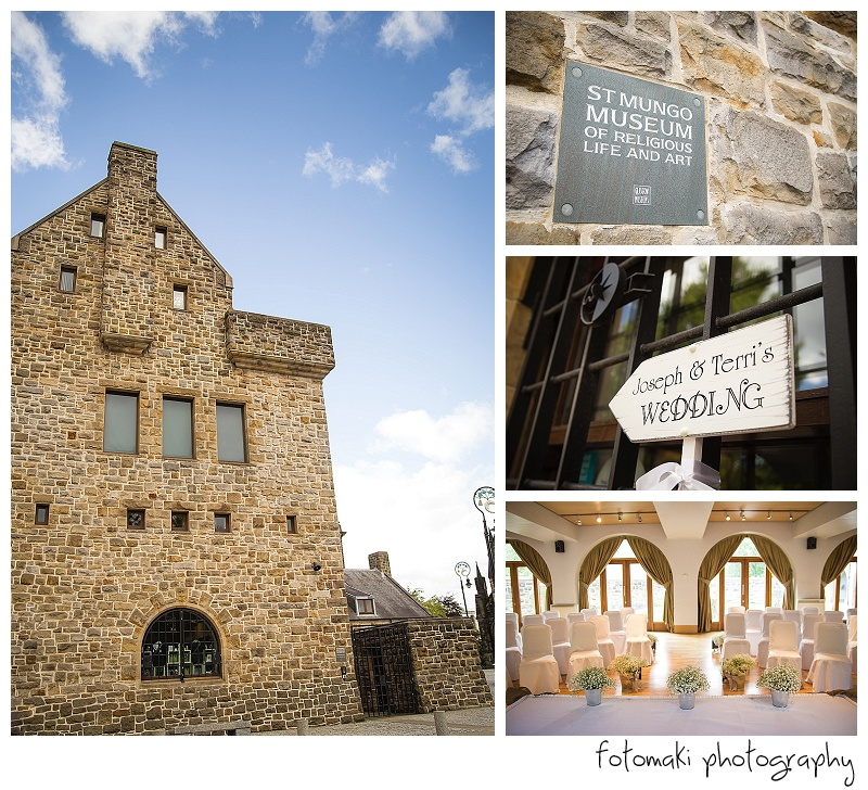 St Mungo Museum Wedding Glasgow Cathedral by Fotomaki Photography
