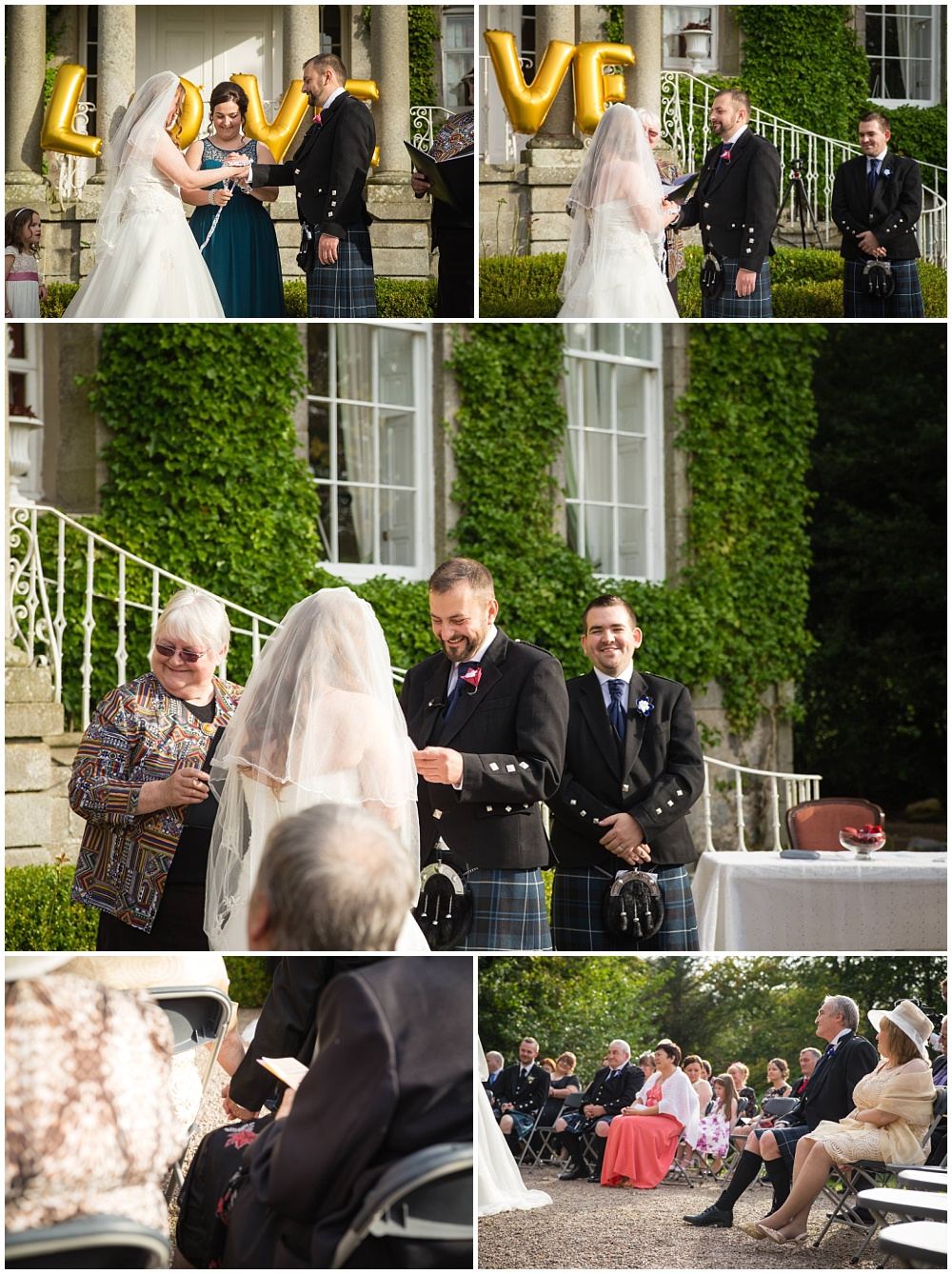 Cortes House Wedding Aberdeenshire by Fotomaki Photography