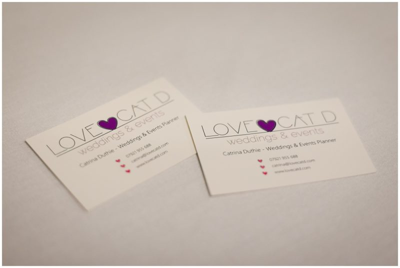 Love Cat D Glasgow Wedding Planner Interview