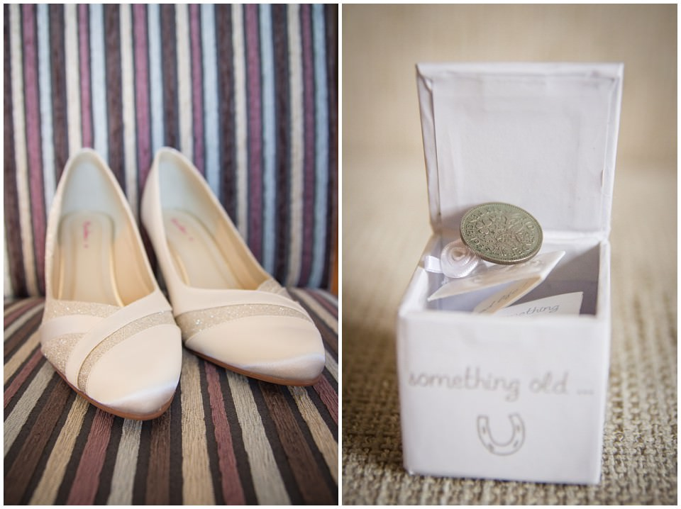 Banchory Lodge Wedding Aberdeen Prep Getting Ready Shoes