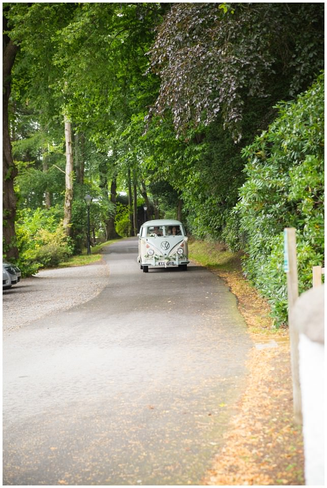 Banchory Lodge Wedding Aberdeen VW Van