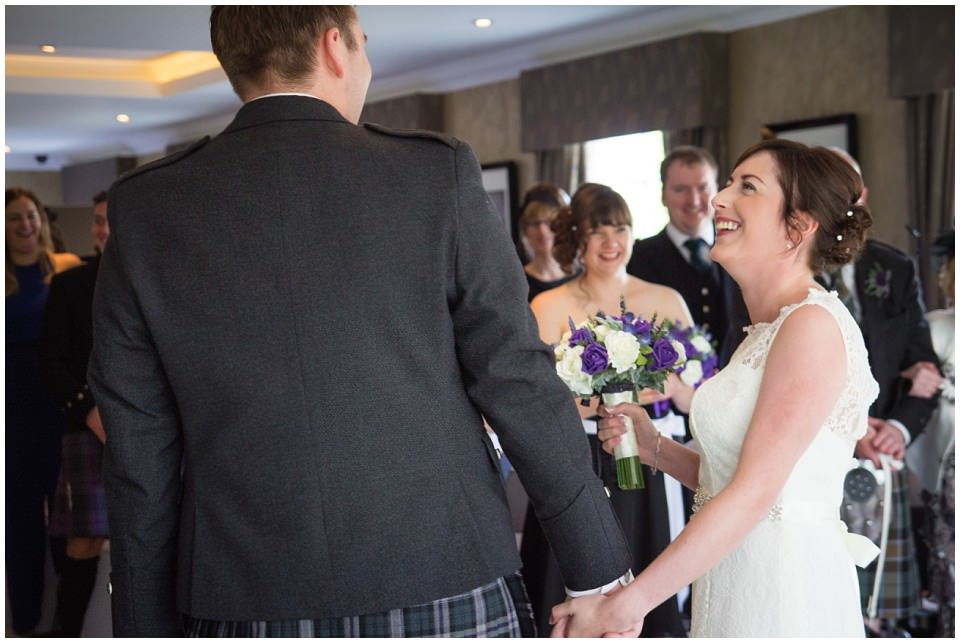 Banchory Lodge Wedding Aberdeen Ceremony