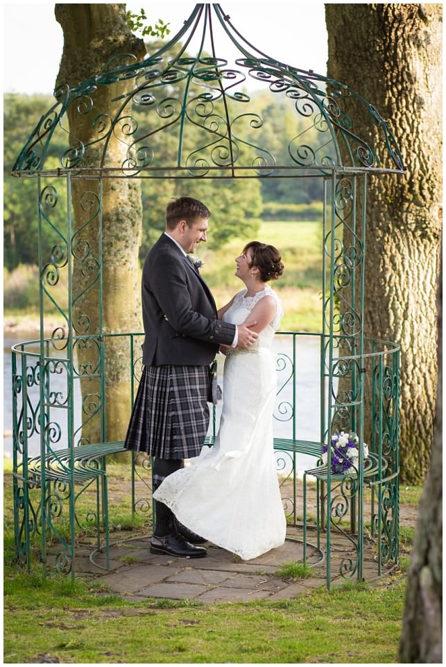 Banchory Lodge Wedding Aberdeen Bride Groom Portraits River Dee