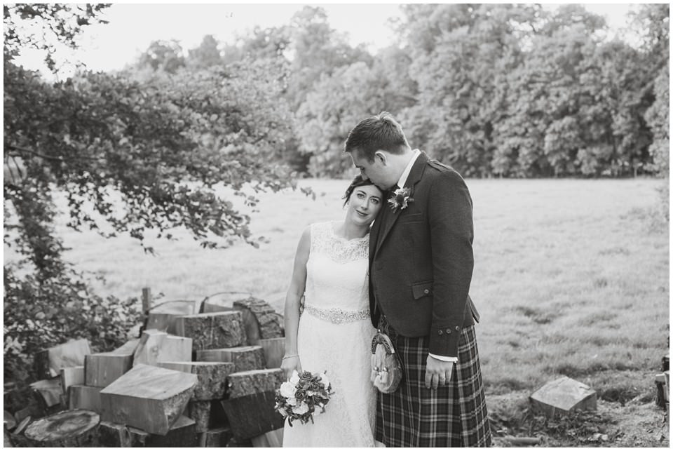Banchory Lodge Wedding Aberdeen Bride Groom Portraits