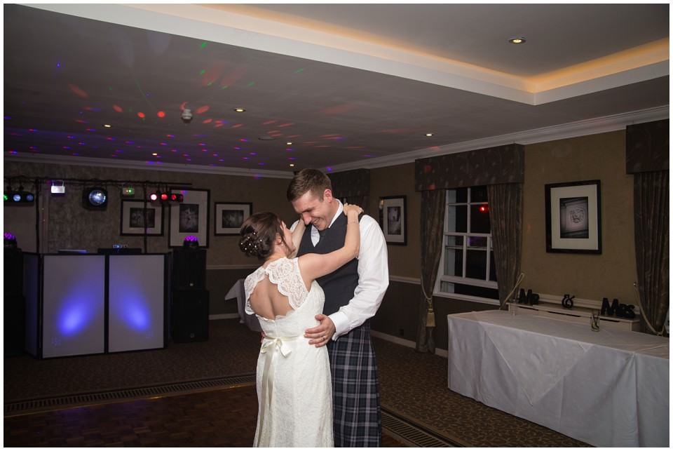 Banchory Lodge Wedding Aberdeen First Dance