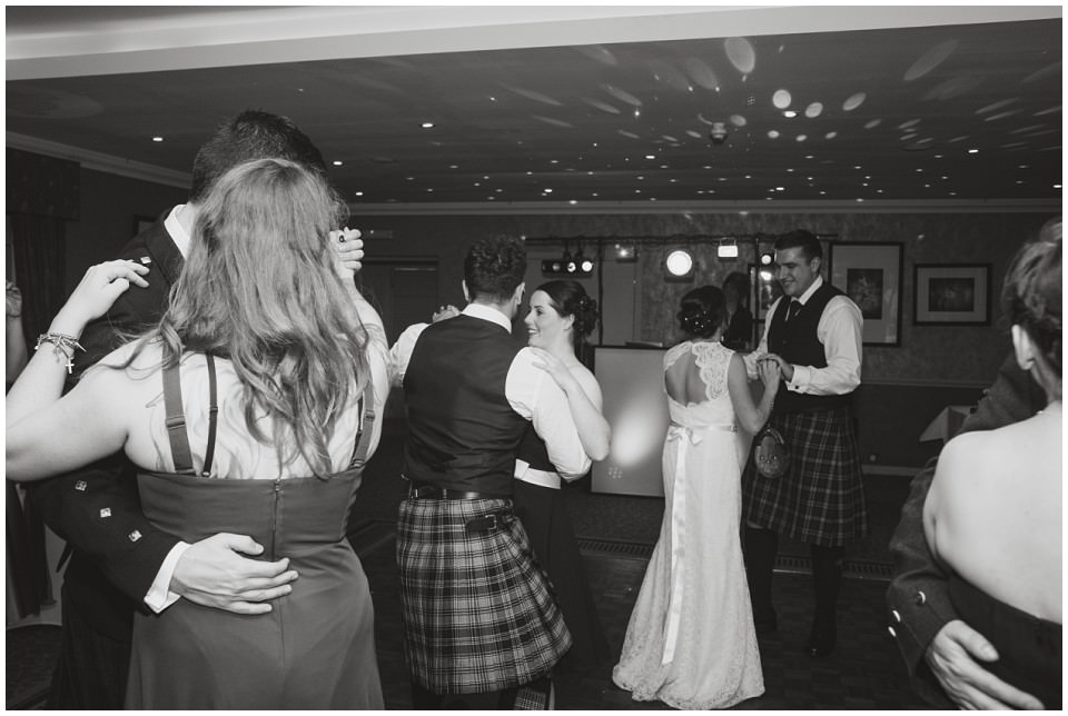 Banchory Lodge Wedding Aberdeen Dancing