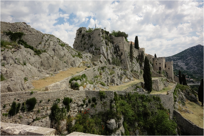 Klis Fortress Split Croatia Travel Guide Dalmatian Coast Days What Where to Visit Dalmatia Cities