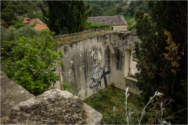 Abandoned Town Hvar Malo Grablje Croatia Travel Guide Dalmatian Coast Days What Where to Visit Dalmatia Cities