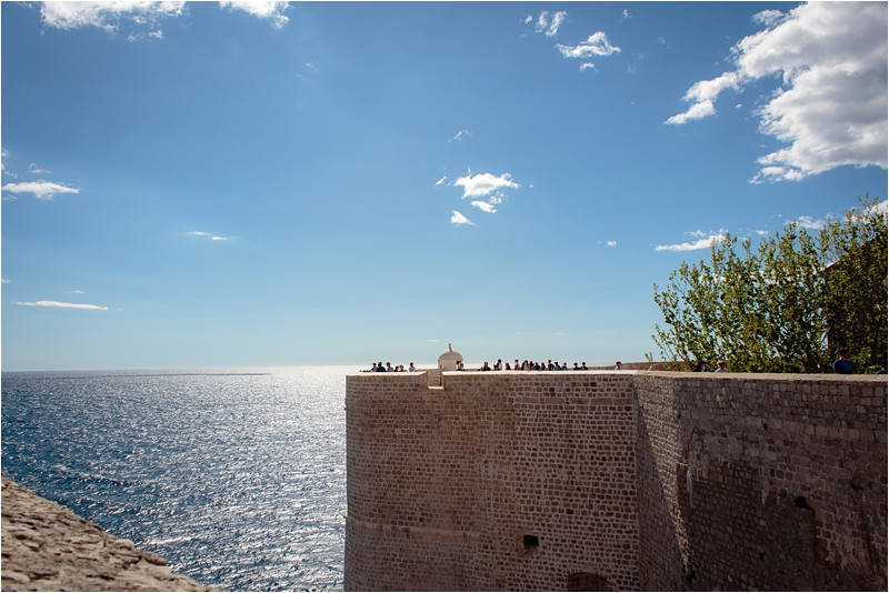 Dubrovnik City Walls Croatia Travel Guide Dalmatian Coast Days What Where to Visit Dalmatia Cities