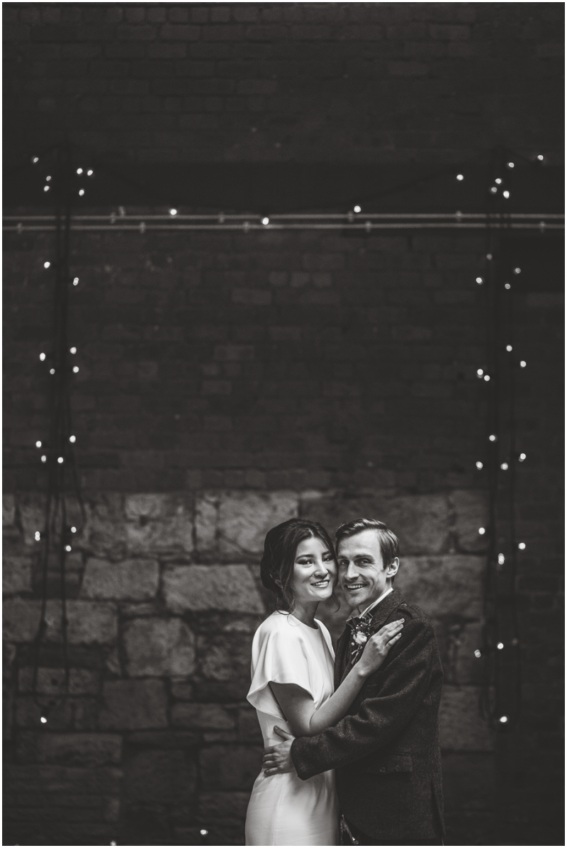 industrial glasgow warehouse wedding venue photos