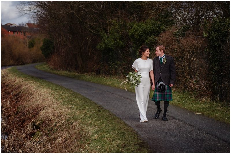 industrial glasgow warehouse wedding venue photos Maryhill Forth Clyde Canal