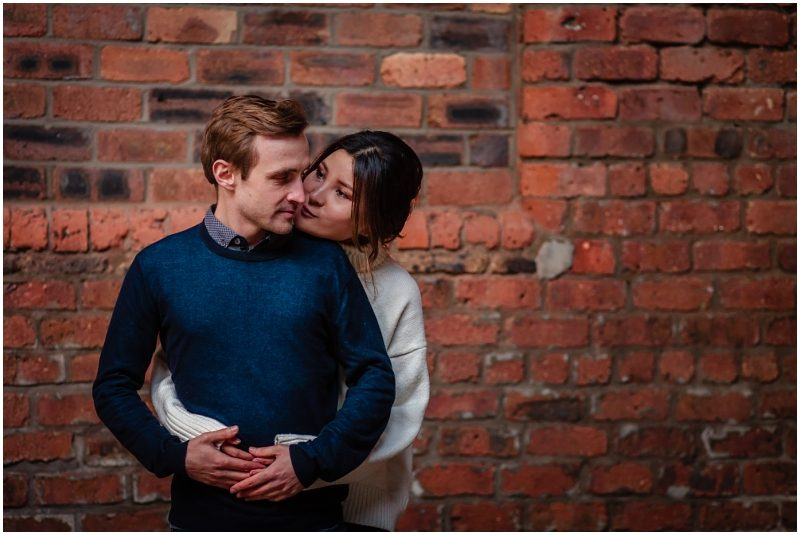 Engine Works Warehouse Wedding Venue Glasgow Couples Shoot