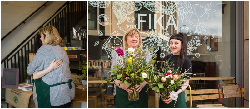 mothers day gift ideas flower arranging workshop glasgow family photoshoot
