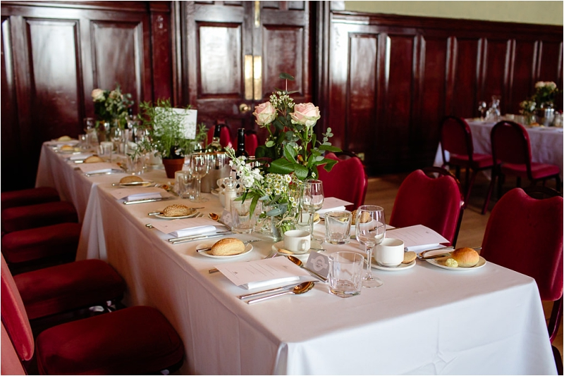 Trades Hall Glasgow set for wedding reception dinner
