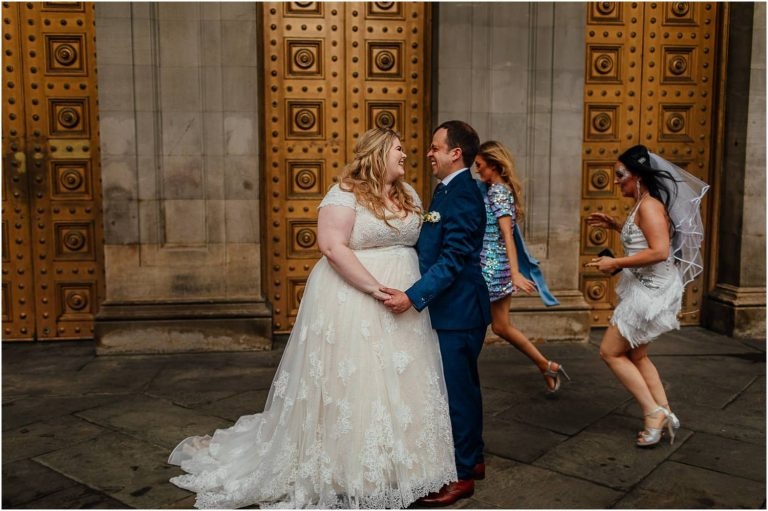 Glasgow City Centre Alternative Wedding Photographer