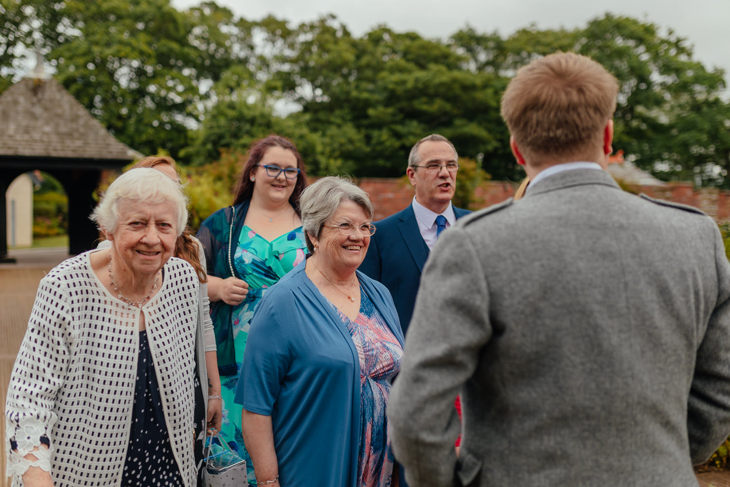 Ayrshire Wedding Piersland House Troon Guests Arriving