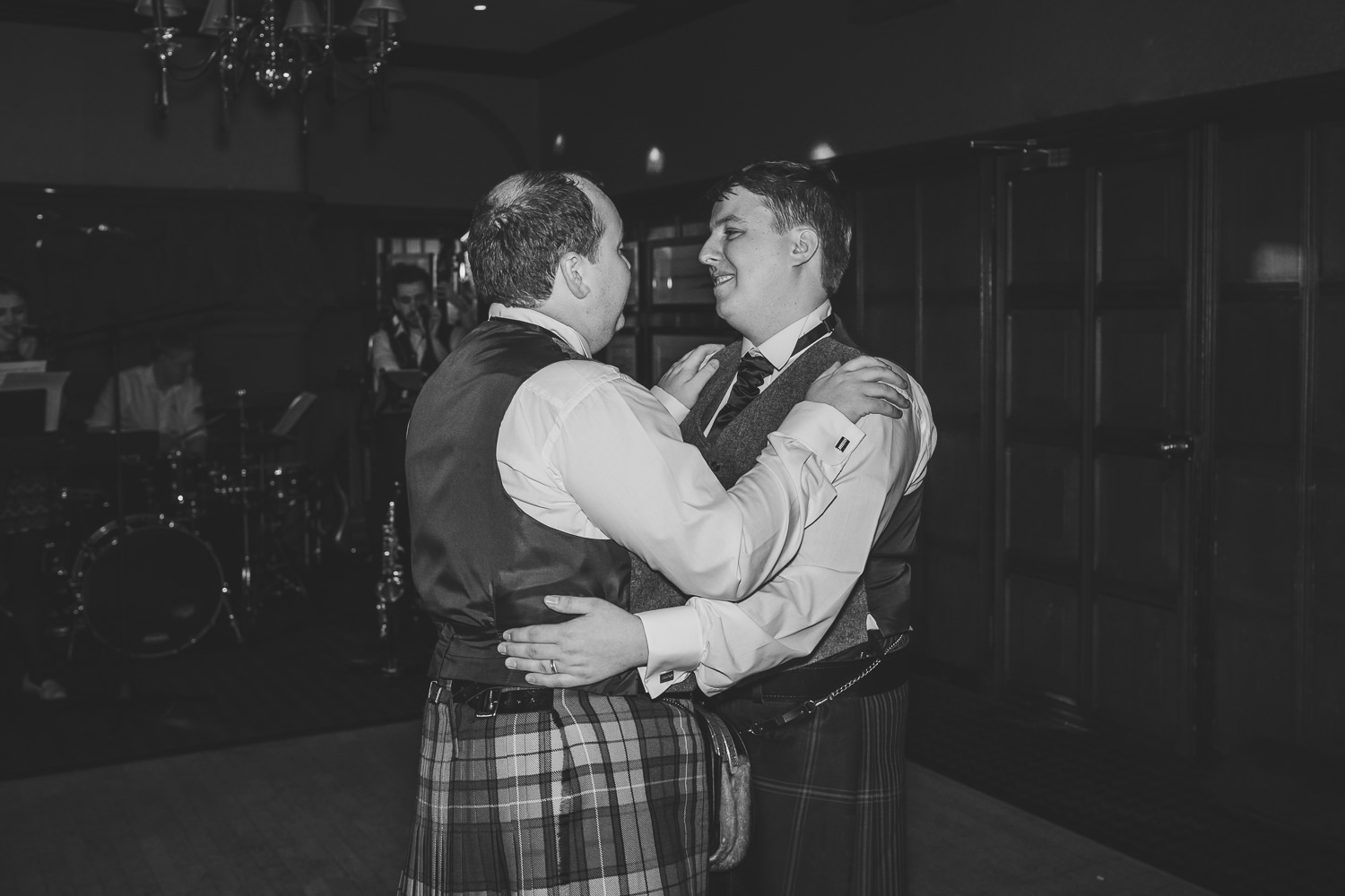 Ayrshire Wedding Piersland House Troon Same Sex Gay Wedding First Dance Reception