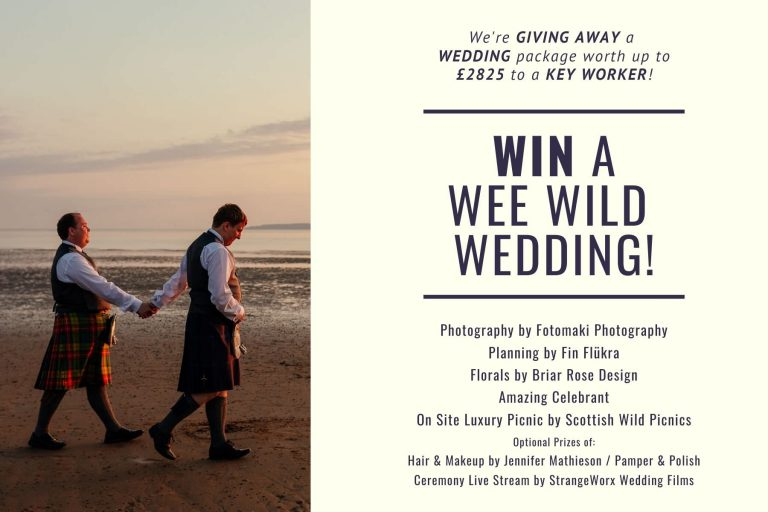 mini wedding scotland package prize draw competition giveaway