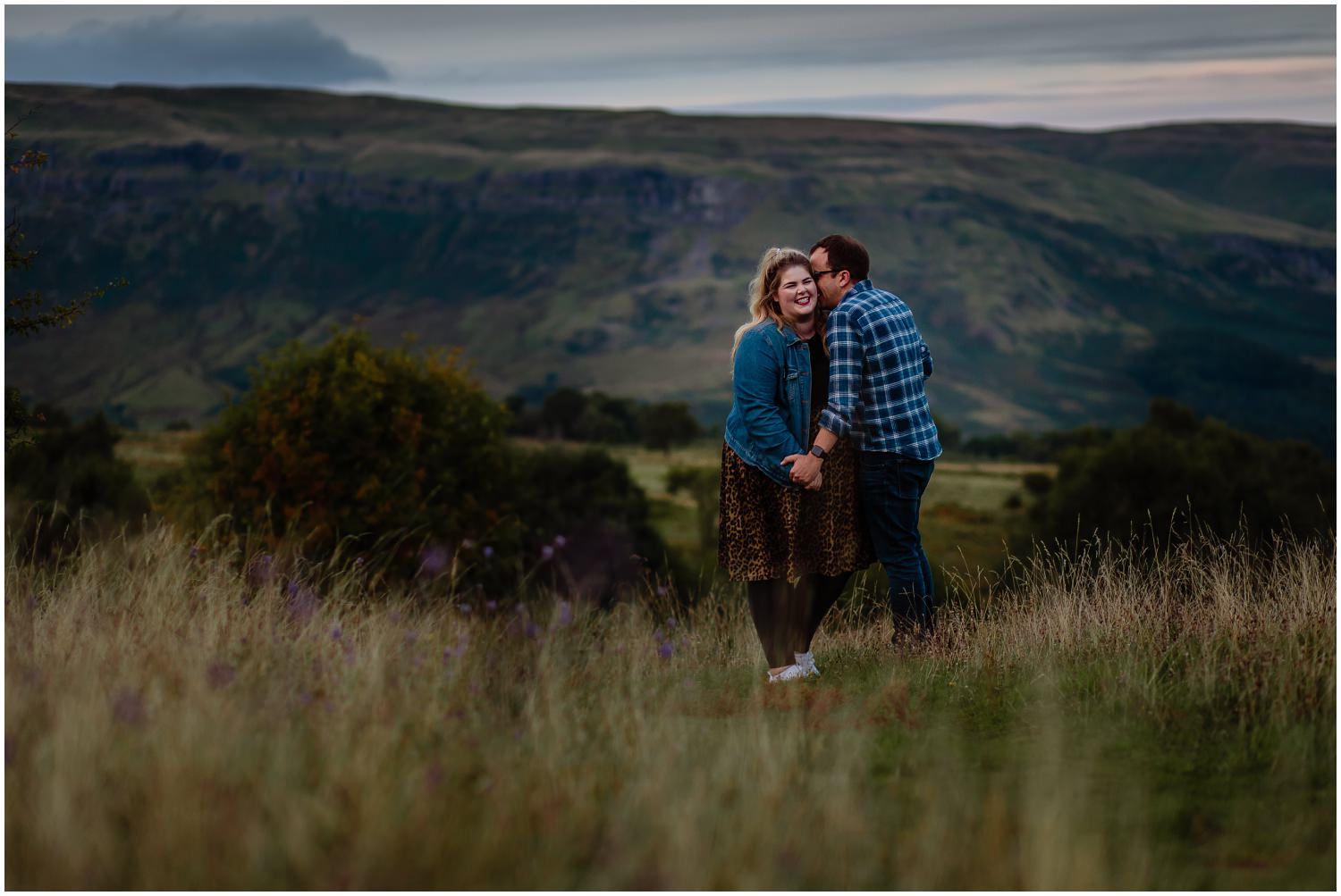 Campsie Fells Adventure Couples Session Mugdock Country Park Glasgow