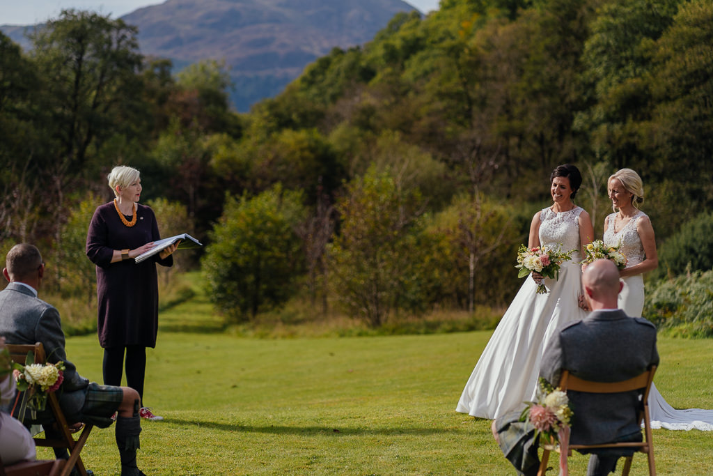 claire the humanist wedding ceremony micro wedding outdoors