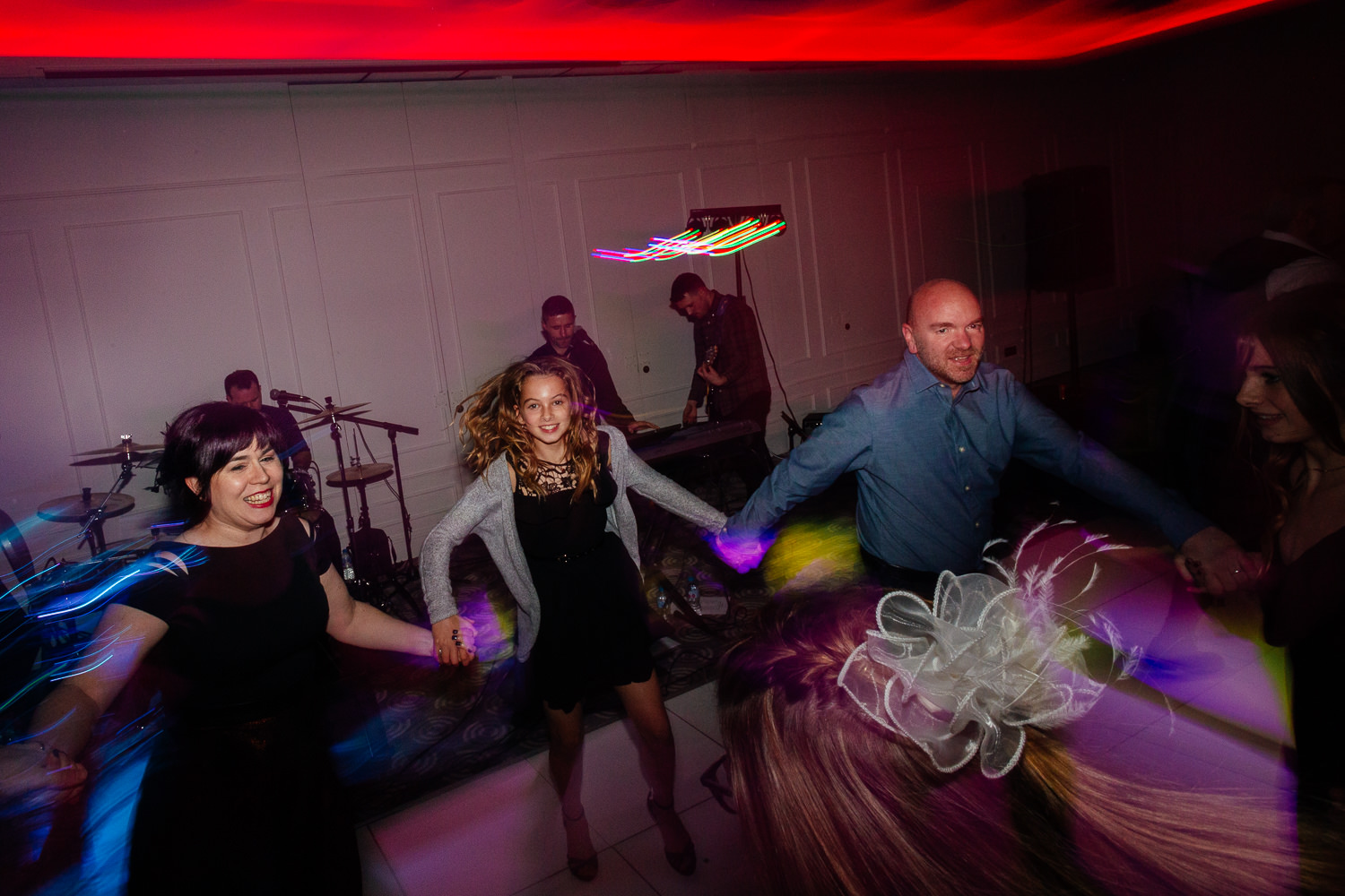 rock music wedding reception evening ceilidh dance chester hotel wedding aberdeen