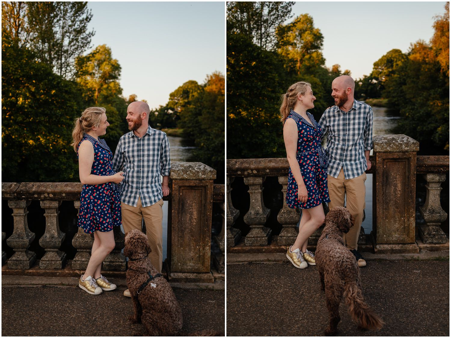 Glasgow engagement shoot in the west end