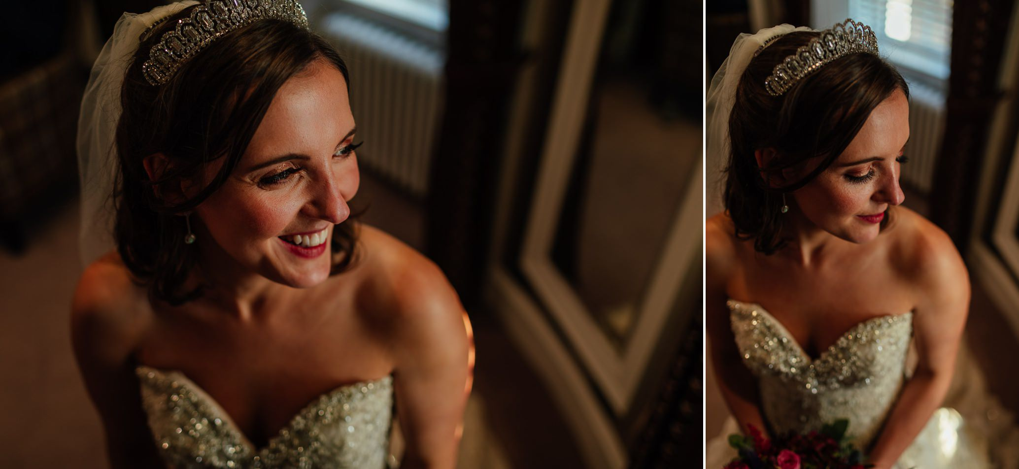 maryculter house hotel aberdeenshire wedding bride groom portraits indoors in sun october